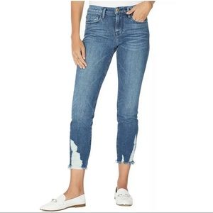 Frame Denim Le Boy Mid-Rise Straight Leg Jeans 24